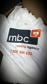 MBC Nursing Agency team shirts